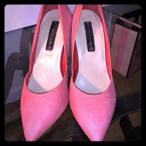 Madden Girl Peach Heel 7.5